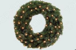 Венок новогодний Triumph с LED лампами «Лесная красавица»