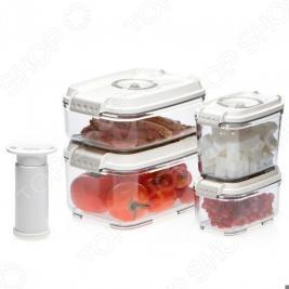 Набор вакуумных контейнеров для продуктов STATUS VAC-REC-Smaller