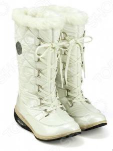 Сапоги зимние Walkmaxx Snow Boots. Уцененный товар. Цвет: белый