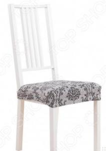 Комплект натяжных чехлов на сиденье стула Еврочехол «Мадрид»