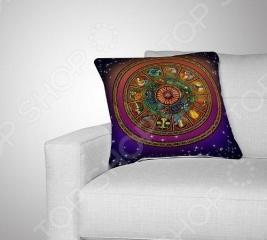 Подушка декоративная «Зодиакальный круг»