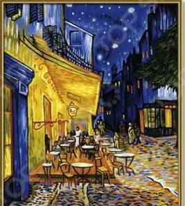 Набор для рисования по номерам Schipper «Ванг Гог «Ночное кафе»