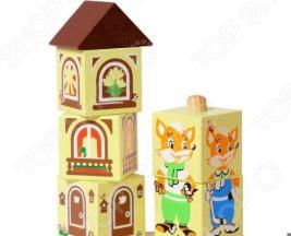 Кубики обучающие Томик на палочке «Лисенок»