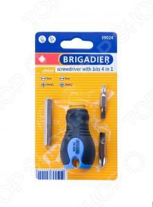 Отвертка со вставками Brigadier Mini «4 в 1»
