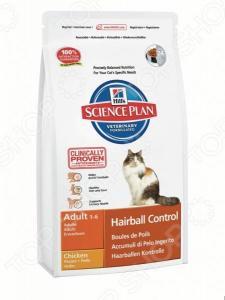 Корм сухой диетический для кошек Hill's Science Plan Hairball Control