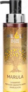 Шампунь для усиления роста волос Meoli «Сила и блеск» with Marula Oil