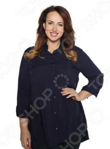 Рубашка Pretty Woman «Край чудес». Цвет: темно-синий