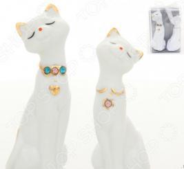 Фигурка декоративная Elan Gallery Пара кошек со стразами