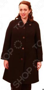 Пальто Klimini Маргарэт. Цвет: черный