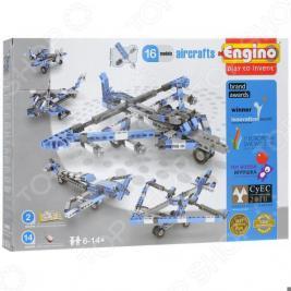 Конструктор игрушечный Engino Pico builds/Inventor «Самолеты»