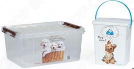 Набор контейнеров для корма Полимербыт SGHPBKP33