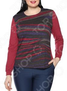 Блуза Ивассорти «Анкара». Цвет: бордовый