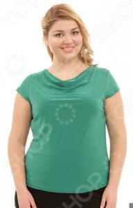 Блуза Лауме-Лайн «Сластена». Цвет: зеленый