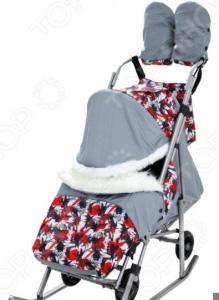 Санки-коляска «Метелица-Премиум»