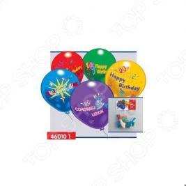 Шарики надувные Everts «С днем рождения!»