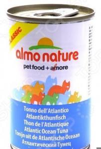 Корм консервированный для кошек Almo Nature Classic Atlantic Ocean Tuna