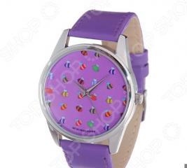 Часы наручные Mitya Veselkov «Много пчелок»