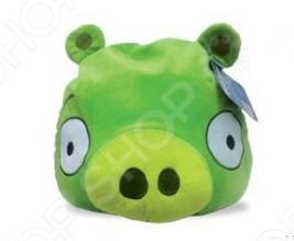 Подушка-игрушка декоративная Angry Birds Green pig