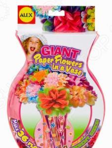 Набор для создания поделок ALEX «Большие цветы из бумаги»