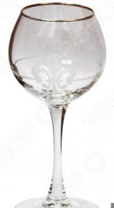 Набор фужеров для вина Гусь Хрустальный «Королевская лилия»
