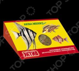 Корм для рыб хлопьевидный Аква Меню «Эктив»