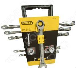 Набор ключей с храповым механизмом STANLEY Maxi Drive 4-89-907