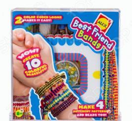Набор для плетения браслетов с 2-мя станками ALEX «Лучшие друзья»