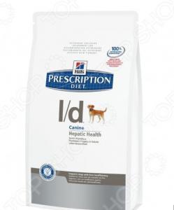 Корм сухой диетический для собак Hill's L/D Prescription Diet Canine Hepatic Health