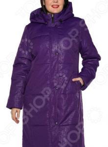 Пальто Гранд Гром «Персона». Цвет: фиолетовый