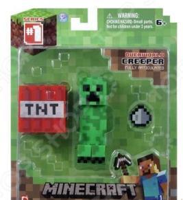 Набор игровой c фигуркой и аксессуарами Minecraft «Крипер»