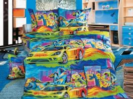 Детский комплект постельного белья Бамбино «Граффити»