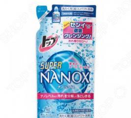 Жидкое средство для стирки Lion Top Super Nanox