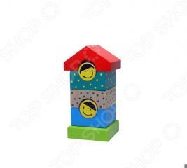 Игрушка-пирамидка Alatoys «Домик» ПДМ02