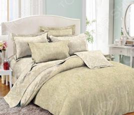 Комплект постельного белья Cleo 012-PE. Семейный
