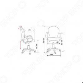Кресло Бюрократ CH-687AXSN/JP-15-2
