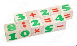 Кубики деревянные Томик «Цифры» 1111-3