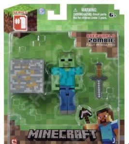 Набор игровой c фигуркой и аксессуарами Minecraft «Зомби»