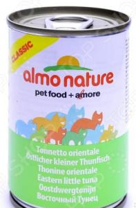 Корм консервированный для кошек Almo Nature Classic Eastern Little Tuna