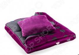 Покрывало для кровати Dormeo Symphony 3 в 1. 2-спальный. Цвет: фиолетовый
