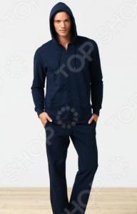 Толстовка домашняя мужская BlackSpade 7305. Цвет: темно-синий