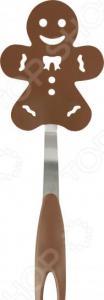 Лопатка для блинов Mallony «Пряничный человечек» PT-Gingerbread