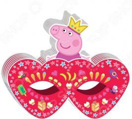 Полумаска детская Росмэн 28561 «Peppa Pig. Принцесса»