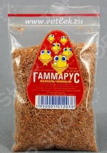 Корм для рыб КОБЕРТ «Гаммарус измельченный»