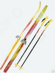 Комплект лыжный с палками SORSU Snowstar. Система крепления: 75 мм