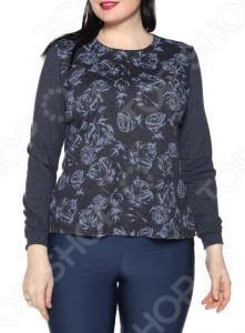 Блуза Ивассорти «Анкара». Цвет: темно-синий