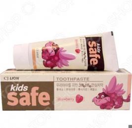 Зубная паста детская CJ Lion Kids Safe «Клубника»