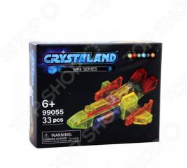 Конструктор для мальчика N-BRIX Crystaland «Грузовой Корабль»