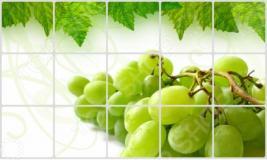 Экран защитный кухонный Bradex «Виноградная гроздь»