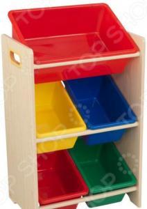 Система для хранения игрушек KidKraft с 5 контейнерами 15472_KE