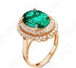 Кольцо «Изумрудная нить» 100-1181